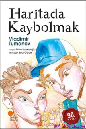 Kitap Vladimir Tumanov Haritada Kaybolmak TürkçeKitap
