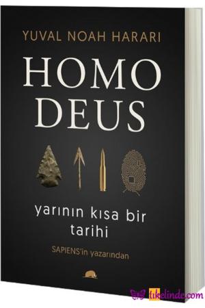 Kitap Yuval Noah Harari Homo Deus Yarının Kısa Bir Tarihi TürkçeKitap