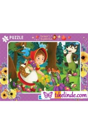 Puzzle Yapboz Kırmızı Başlıklı Kız 72 Parça Puzzle TürkçeKitap