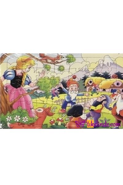Puzzle Yapboz Uysal Yapboz Pamuk Prenses TürkçeKitap