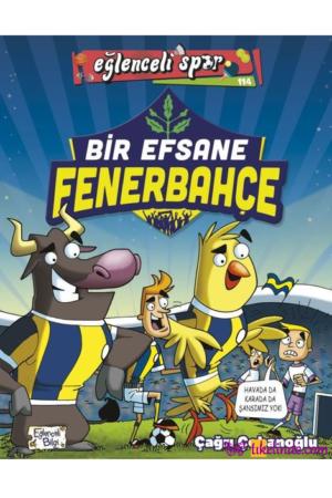 Kitap Çağrı Çobanoğlu Bir Efsane Fenerbahçe TürkçeKitap