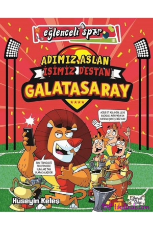 Kitap Hüseyin Keleş Adımız Aslan İşimiz Destan Galatasaray TürkçeKitap