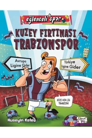 Kitap Hüseyin Keleş Kuzey Fırtınası Trabzonspor TürkçeKitap