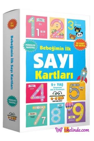 Kitap Kolektif Bebeğimin İlk Sayı Kartları (2+ Yaş) TürkçeKitap
