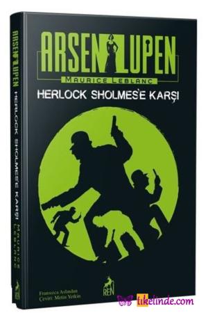 Kitap Maurice Leblanc Arsen Lüpen Herlock Sholmes'e Karşı TürkçeKitap