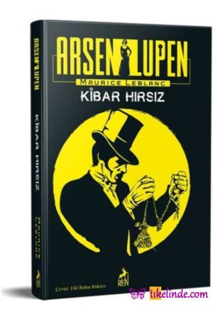 Kitap Maurice Leblanc Arsen Lüpen Kibar Hırsız TürkçeKitap