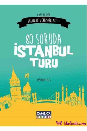 Kitap Yasemin Teres 80 Soruda İstanbul Turu TürkçeKitap
