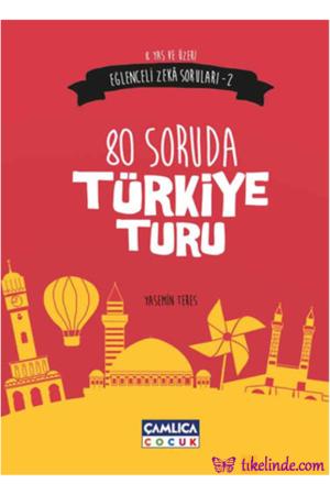Kitap Yasemin Teres Eğlenceli Zeka Soruları 2 80 Soruda Türkiye Turu TürkçeKitap