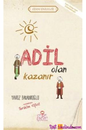 Kitap Yavuz Bahadıroğlu Adil Olan Kazanır TürkçeKitap