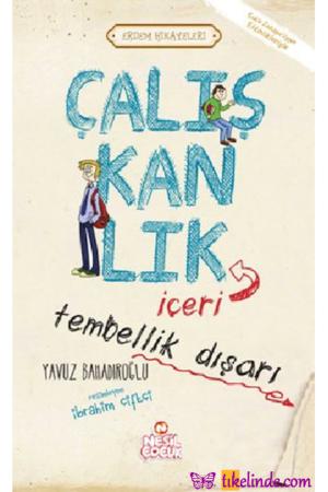 Kitap Yavuz Bahadıroğlu Çalışkanlık İçeri Tembellik Dışarı TürkçeKitap