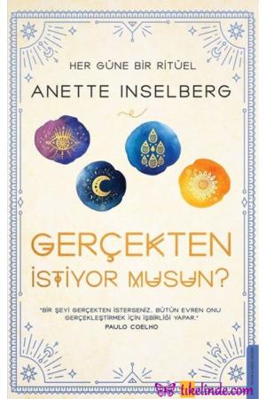 Kitap Anette Inselberg Gerçekten İstiyor Musun TürkçeKitap