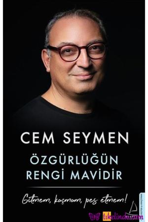 Kitap Cem Seymen Özgürlüğün Rengi Mavidir 9786053119814 TürkçeKitap