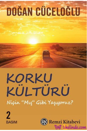Kitap Doğan Cüceloğlu Korku Kültürü TürkçeKitap
