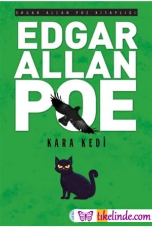 Kitap Edgar Allan Poe Kara Kedi TürkçeKitap