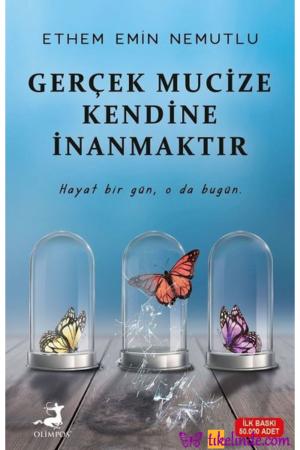 Kitap Ethem Emin Nemutlu Gerçek Mucize Kendine İnanmaktır TürkçeKitap