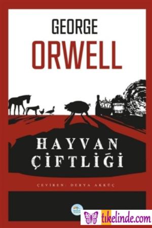 Kitap George Orwell Hayvan Çiftliği TürkçeKitap