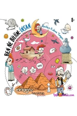 Kitap Hatice Kübra Tongar Ben Ne Biliim İnsan TürkçeKitap