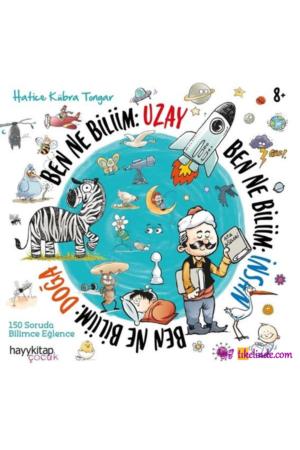 Kitap Hatice Kübra Tongar Ben Ne Biliim İnsan Doğa Uzay (3 Kitap Takım) TürkçeKitap