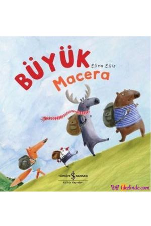 Kitap İş Bankası Kültür Yayınları Büyük Macera TürkçeKitap