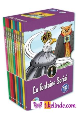 Kitap La Fontaine La Fontaine Öyküleri Seti (10 Kitap Kutulu) TürkçeKitap