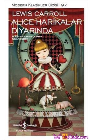 Kitap Lewis Carroll Alice Harikalar Diyarında TürkçeKitap