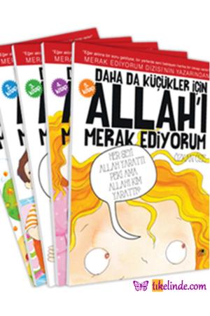 Kitap Özkan Öze Daha Da Küçükler İçin Allah'ı Merak Ediyorum (5 Kitap Takım) TürkçeKitap