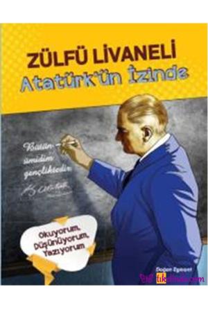 Kitap Zülfü Livaneli Atatürk'ün İzinde TürkçeKitap