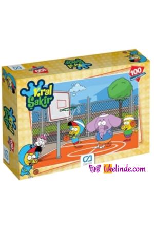 Puzzle Yapboz Ca Games Kral Şakir 100'lük Puzzle 8681889040862 TürkçeKitap