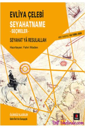 Kitap Evliya Çelebi Seyahatname Seçmeler 9786055107512 TürkçeKitap