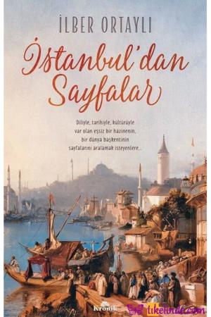 Kitap İlber Ortaylı İstanbul'dan Sayfalar 9786057635303 TürkçeKitap
