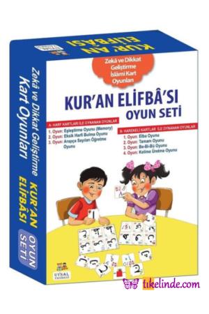 Kitap Kur'an Elifba'sı Oyun Seti 9789752623286 TürkçeKitap