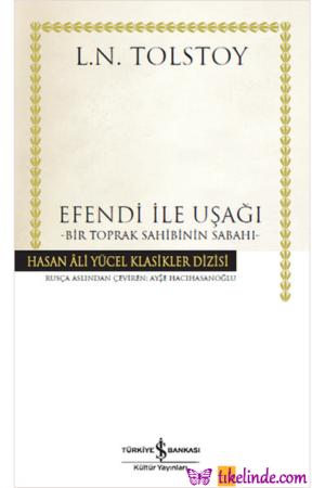 Kitap Lev Nikolayeviç Tolstoy Efendi Ile Uşağı 9786053328490 TürkçeKitap