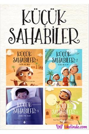 Kitap Özkan Öze Küçük Sahabiler (4 Kitap Set) 9786059723619 TürkçeKitap
