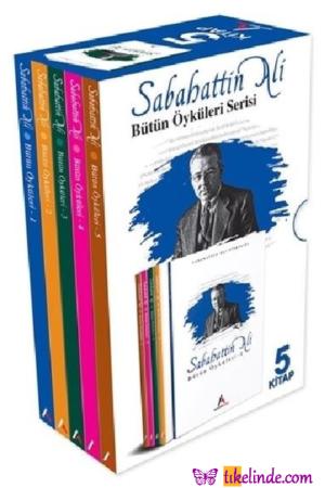 Kitap Sabahattin Ali Sabahattin Ali Bütün Öyküleri (5 Kitap Kutulu) 9915778106315 TürkçeKitap