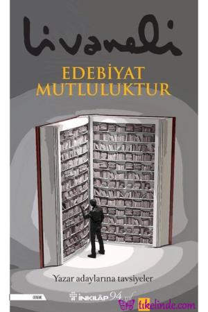 Kitap Zülfü Livaneli Edebiyat Mutluluktur 9789751041616 TürkçeKitap