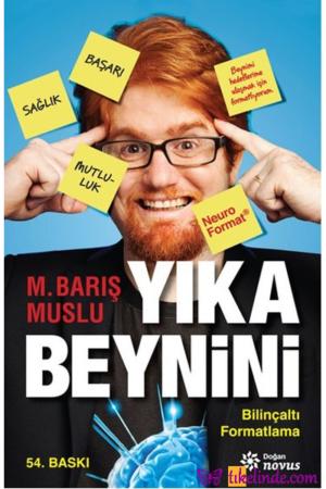 Kitap M. Barış Muslu Yıka Beynini 9786050925524 TürkçeKitap