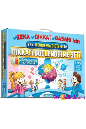 Kitap Osman Abalı Dikkati Güçlendirme Seti Yeni Neuro Vİa Sistemi Ile (2 Yaş) 9786058150416 TürkçeKitap