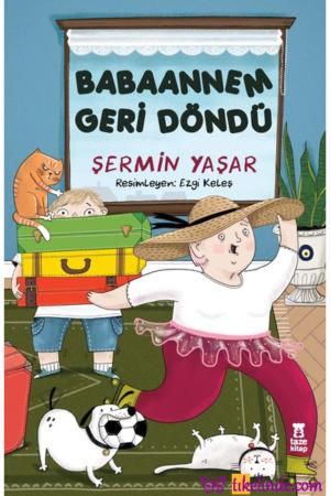 Kitap Şermin Yaşar Babaannem Geri Döndü 9786057480927 TürkçeKitap