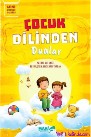 Kitap Ali Bağcı Çocuk Dilinden Dualar 9786057826190 TürkçeKitap