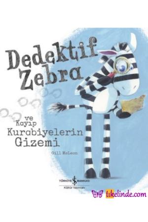 Kitap Gill Mclean Dedektif Zebra Ve Kayıp Kurabiyelerin Gizemi 9786052959558 TürkçeKitap
