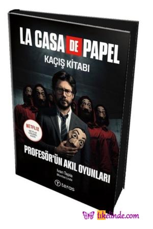 Kitap Montse Linde, Ivan Tapia La Casa De Papel Kaçış Kitabı Profesör'ün Akıl Oyunları (maske Hediyeli) 9786057035714 TürkçeKitap