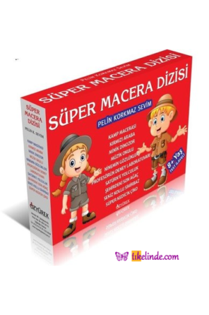 Kitap Pelin Korkmaz Sevim Süper Macera Dizisi (10 Kitap Set) 9786051771380 TürkçeKitap